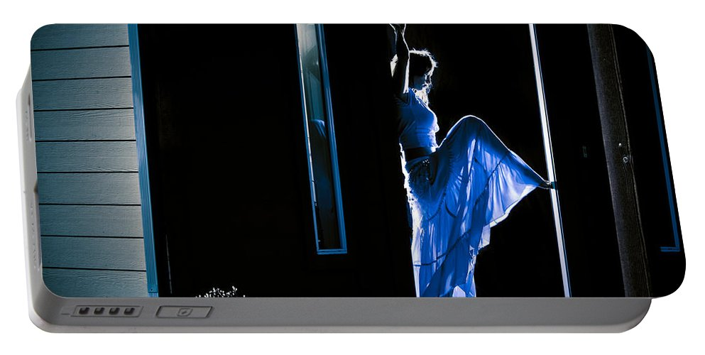 Dance Portable Battery Charger featuring the photograph Welcome Home by Scott Sawyer