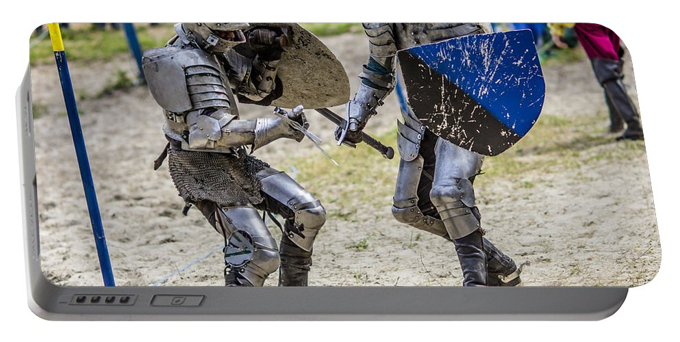 Knight Portable Battery Charger featuring the photograph When Losing Is Not An Option by Stephen Brown