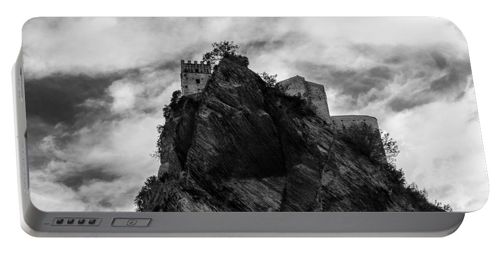 Landscape Portable Battery Charger featuring the photograph Italian Landscape - Where Dragons Fly by Andrea Mazzocchetti