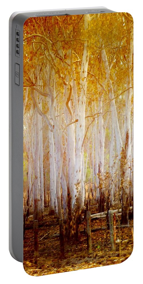 Landscapes Portable Battery Charger featuring the photograph Where The Sun Shines by Holly Kempe