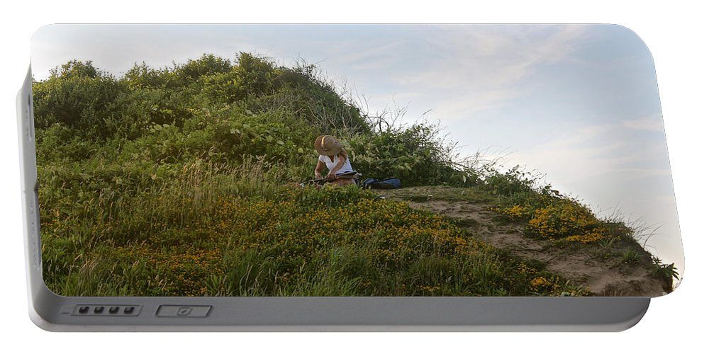Capture Portable Battery Charger featuring the photograph Two Aspects Of Creativity by Christy Gendalia