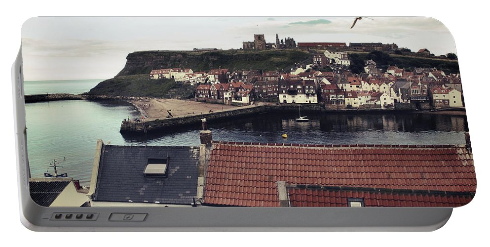 Uk Portable Battery Charger featuring the photograph Whitby by Christopher Rees