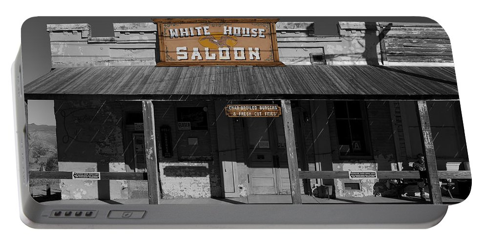 White House Saloon Portable Battery Charger featuring the photograph White House Saloon by Richard J Cassato