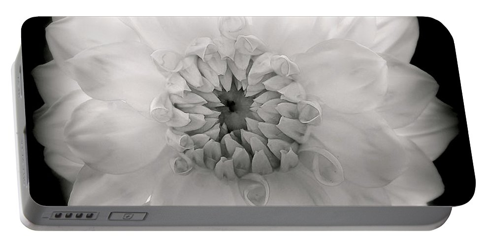 White Flowers Portable Battery Charger featuring the photograph White Magic by Karen Wiles