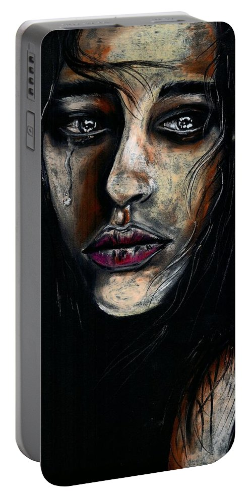 Life Portable Battery Charger featuring the photograph Why couldnt you choose me by Artist RiA