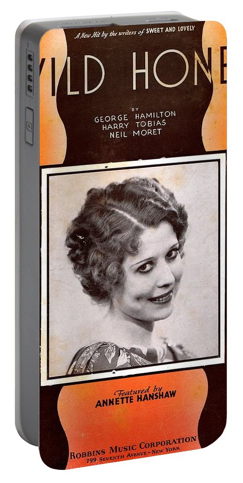 Nostalgia Portable Battery Charger featuring the photograph Wild Honey by Mel Thompson