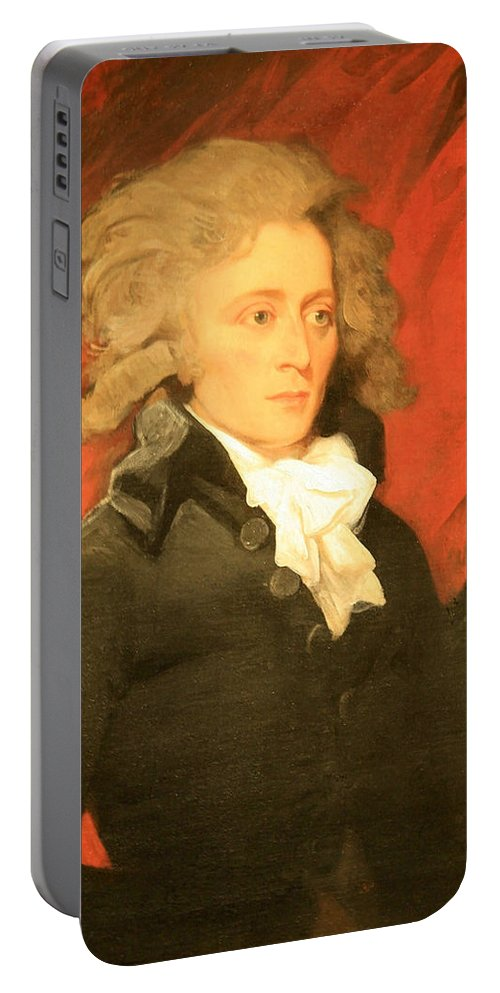 William Vans Murray Portable Battery Charger featuring the photograph William Vans Murray By Mather Brown by Cora Wandel