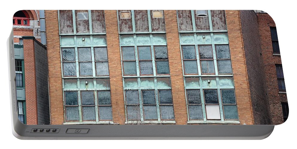 Building Portable Battery Charger featuring the photograph Windows by Lisa Kane