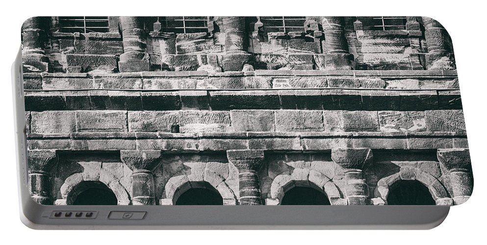Ancient Portable Battery Charger featuring the photograph Windows Of The Porta Nigra by TouTouke A Y