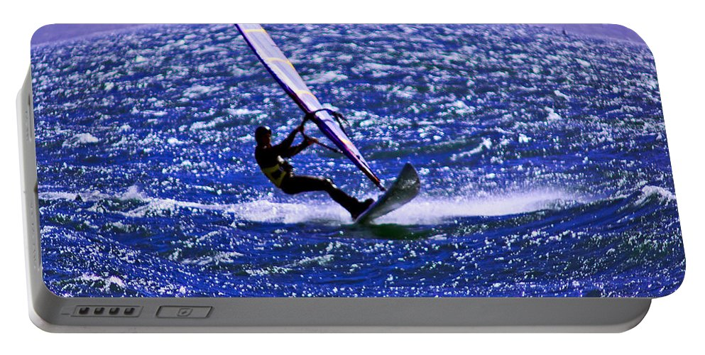 Wind Portable Battery Charger featuring the photograph Windswept by Joe Geraci