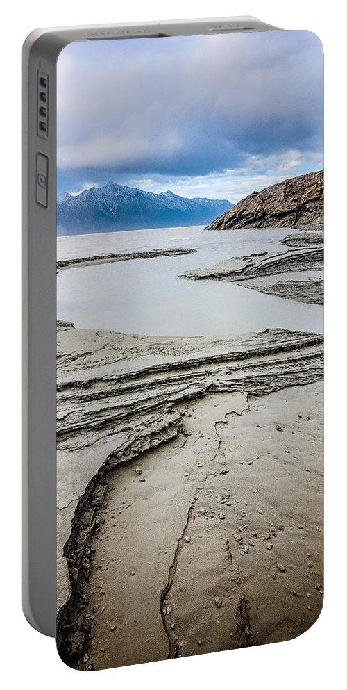 Sunrise Portable Battery Charger featuring the photograph Windy Day At Windy Corner by Tim Newton