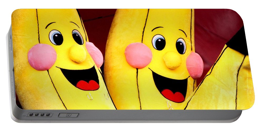 Bananas Portable Battery Charger featuring the photograph Winning by Joe Kozlowski