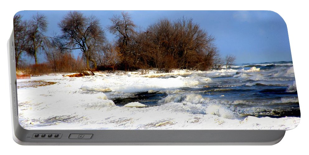 Landscape Portable Battery Charger featuring the photograph Winter Beauty by Debbie Nobile