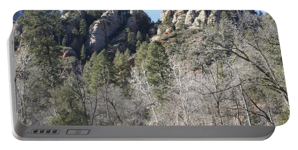 Arizona Portable Battery Charger featuring the photograph Winter In Arizona by Christy Gendalia