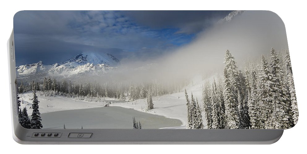 Winter Portable Battery Charger featuring the photograph Winter Wonderland by Mike Dawson