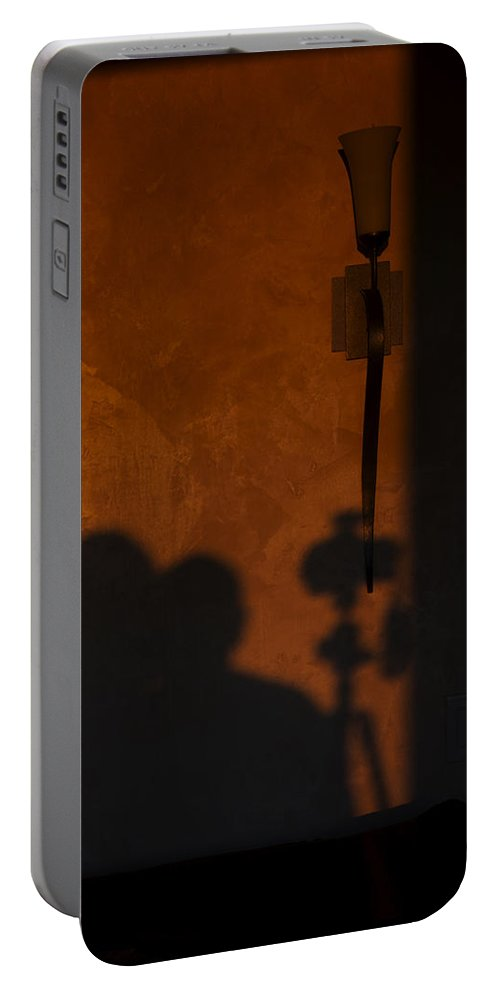 Romance Portable Battery Charger featuring the photograph With You by Mike Herdering