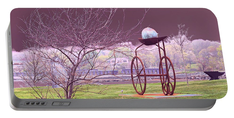 Surreal Portable Battery Charger featuring the photograph Wonderland by Joe Geraci