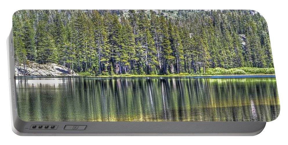 Lake Portable Battery Charger featuring the photograph Woods Lake 4 by SC Heffner