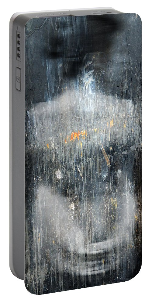 Tears Portable Battery Charger featuring the photograph Wore Of Tears by The Artist Project