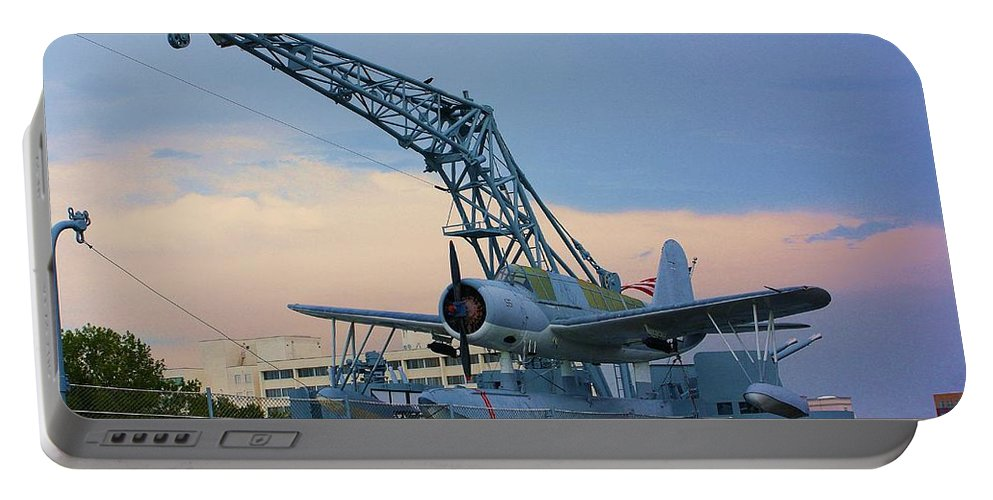 World War Ii Portable Battery Charger featuring the photograph Ww II Sea Plane by Chuck Hicks