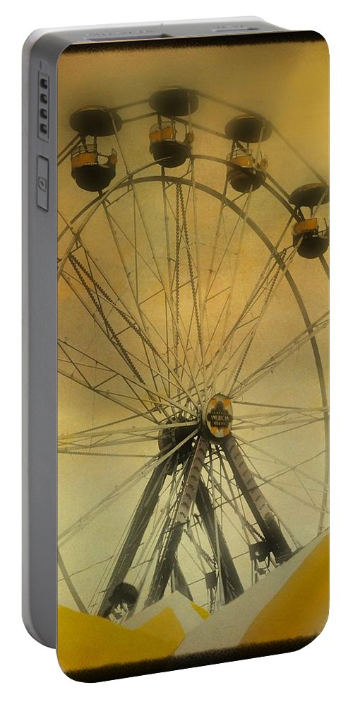 Carnival Portable Battery Charger featuring the photograph Yellow by Gothicrow Images
