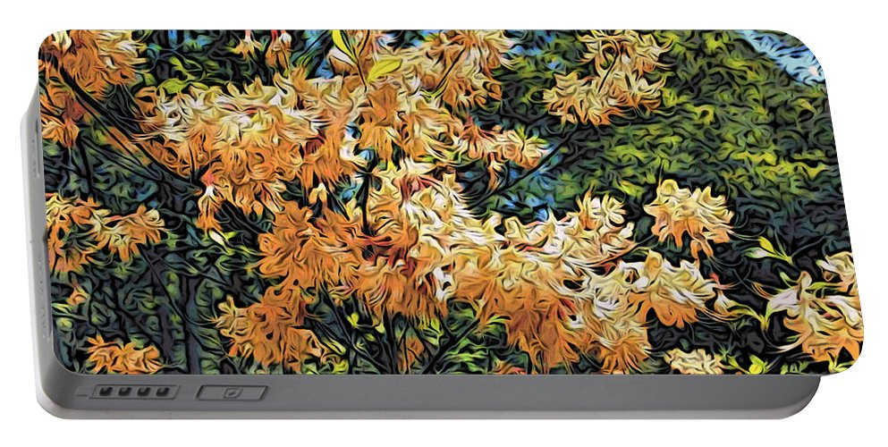 Yellow Flowers Portable Battery Charger featuring the photograph Yellow Too by Alice Gipson