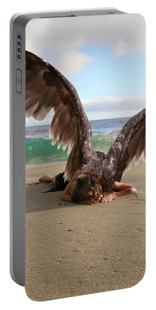 Alex-acropolis-calderon Portable Battery Charger featuring the photograph You Will Not All Sleep by Acropolis De Versailles