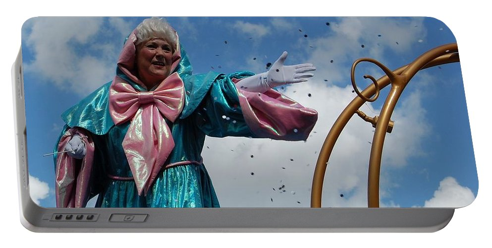 Fairy Godmother Portable Battery Charger featuring the photograph Your Fairy Godmother by Rachel Kaufmann