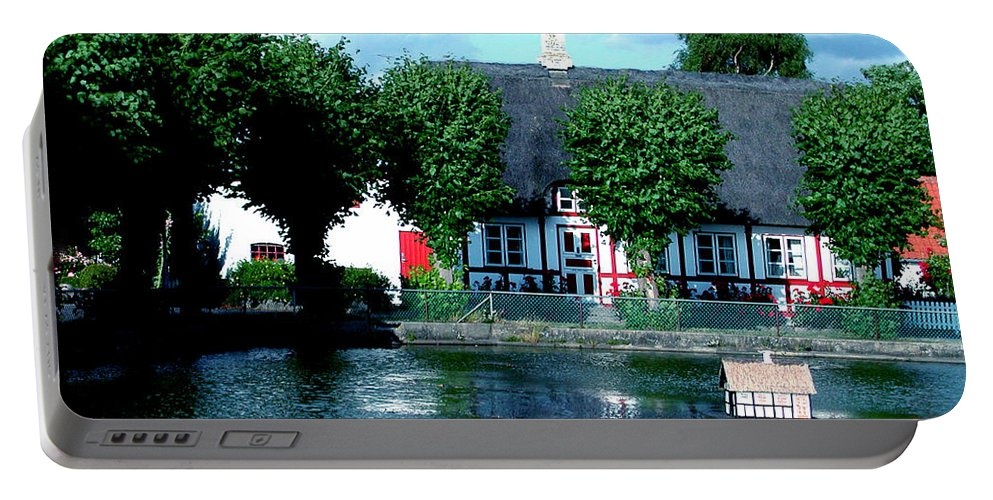 Colette Portable Battery Charger featuring the photograph Beauty On Samsoe Island Denmark  by Colette V Hera Guggenheim