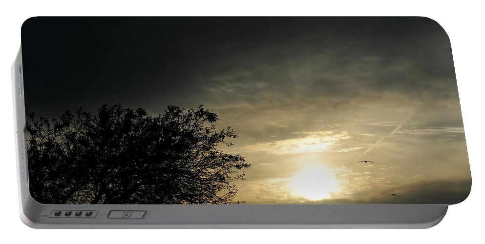 Portable Battery Charger featuring the photograph 003 When Feeling Down Pick Your Head Up To The Skies Series by Michael Frank Jr