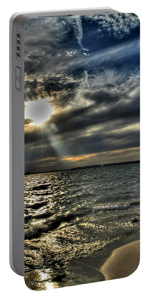 Portable Battery Charger featuring the photograph 005 In Harmony With Nature Series by Michael Frank Jr
