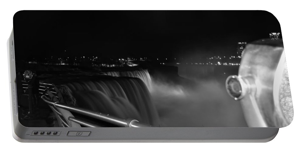 Portable Battery Charger featuring the photograph 02 Niagara Falls Usa Series by Michael Frank Jr