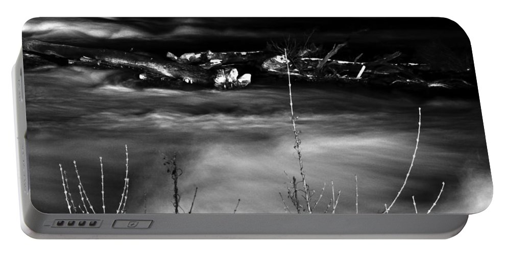 Portable Battery Charger featuring the photograph 03 Niagara Falls Usa Rapids Series by Michael Frank Jr