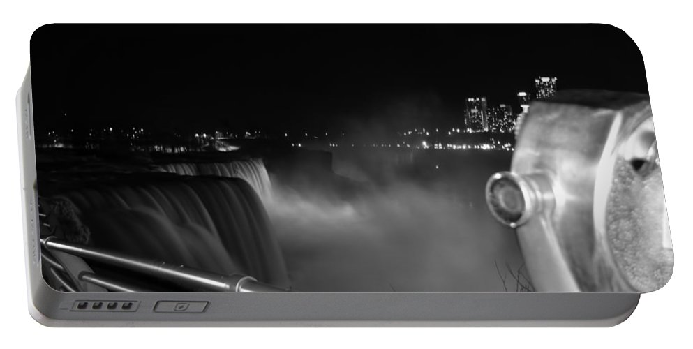 Portable Battery Charger featuring the photograph 03 Niagara Falls Usa Series by Michael Frank Jr