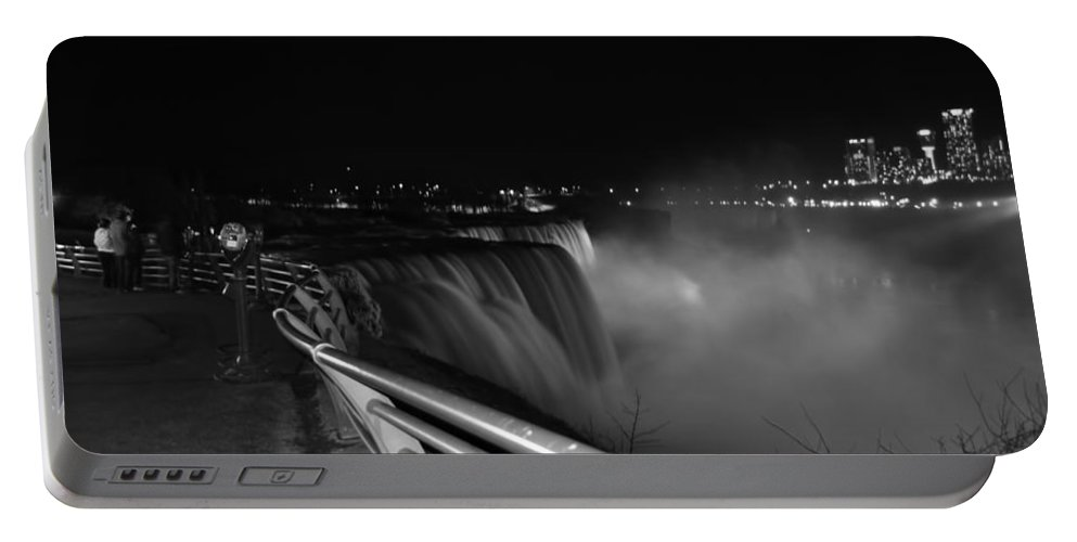 Portable Battery Charger featuring the photograph 05 Niagara Falls Usa Series by Michael Frank Jr