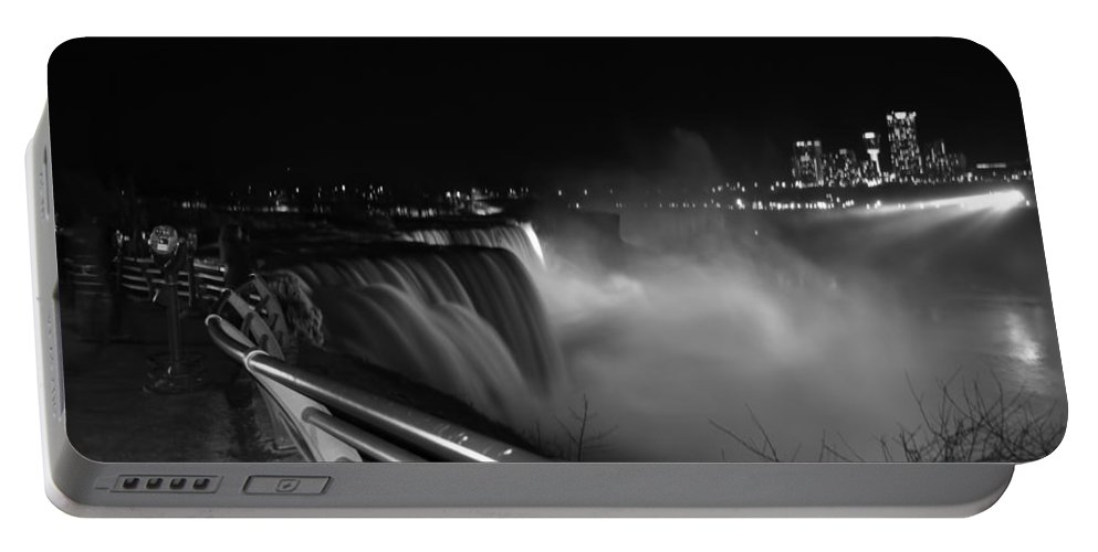 Portable Battery Charger featuring the photograph 06 Niagara Falls Usa Series by Michael Frank Jr