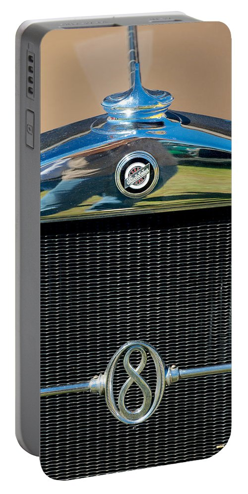 1928 Studebaker Portable Battery Charger featuring the photograph 1928 Studebaker by Mark Dodd