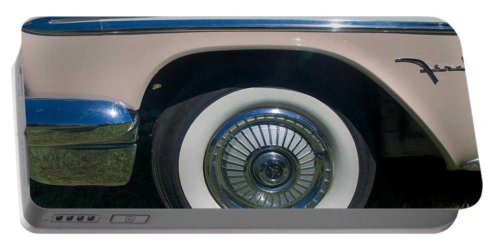 1929 Desoto Firefly Convertable Portable Battery Charger featuring the photograph 1929 Desoto Firefly Convertable by Mark Dodd