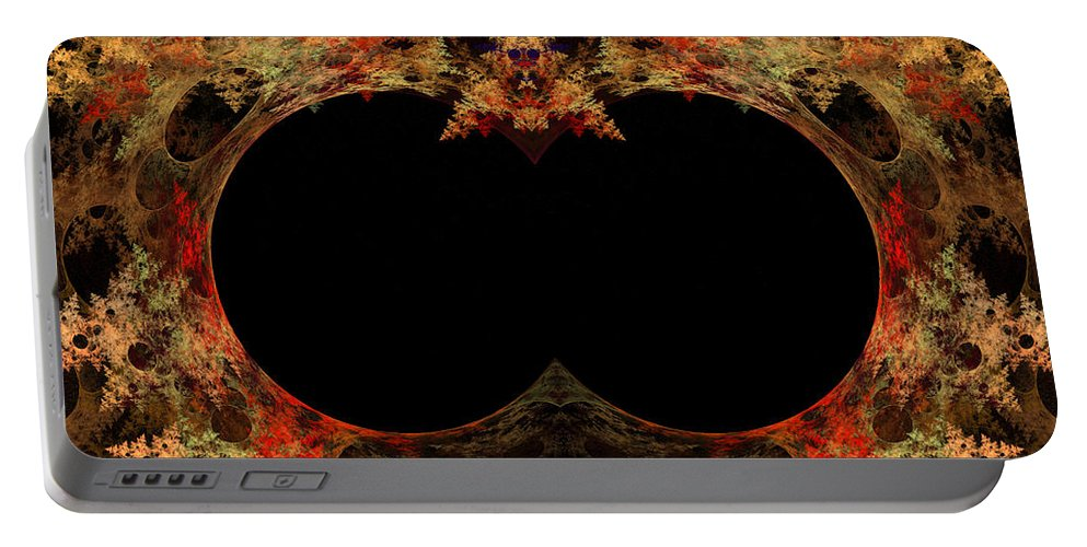Fractal Digital Art Portable Battery Charger featuring the photograph Abstract 173 by Mike Nellums