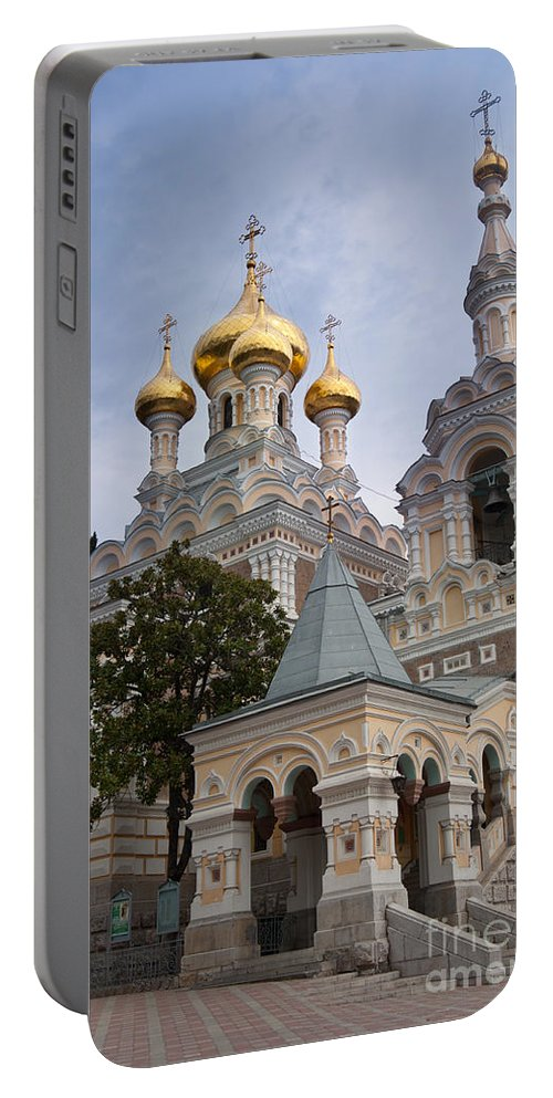 Alexander Portable Battery Charger featuring the photograph Alexander Nevski Church by Andrew Michael