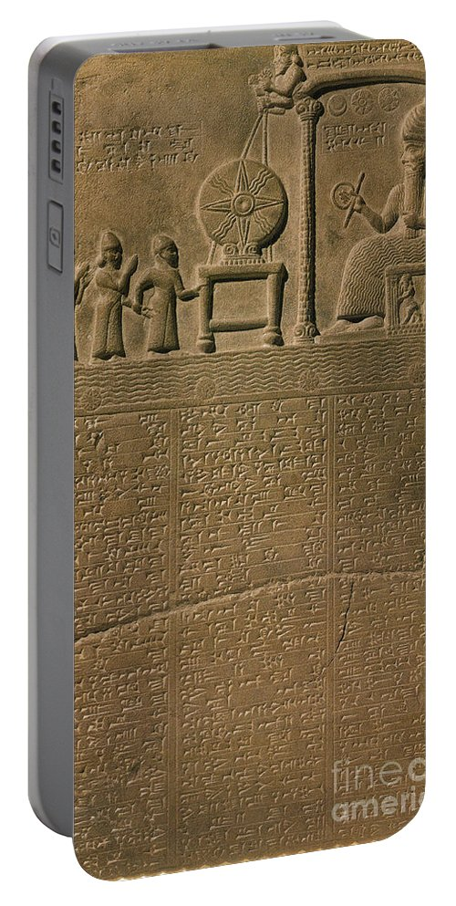 Babylonia Portable Battery Charger featuring the photograph Ancient Astronomical Calendar by Science Source