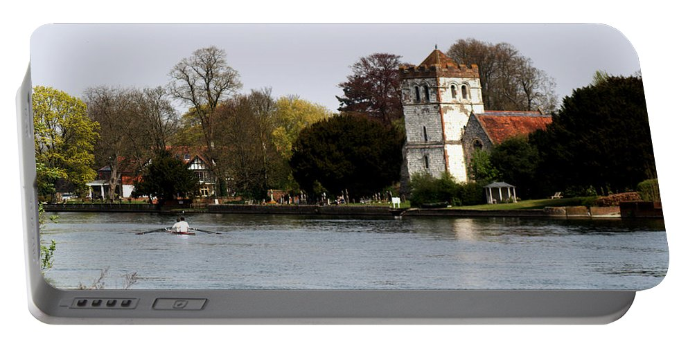 Bisham Abbey Portable Battery Charger featuring the photograph Bisham Abbey by Chris Day