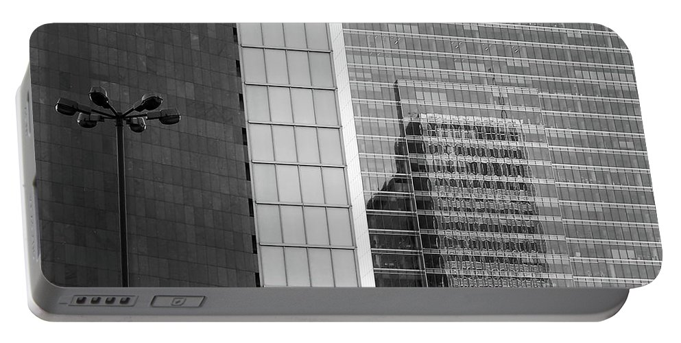 Cityscape Portable Battery Charger featuring the photograph Business Center by Dariusz Gudowicz