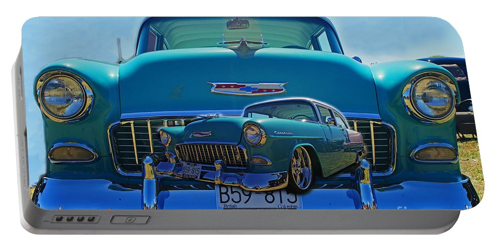Cars Portable Battery Charger featuring the photograph Cadp0738-12 by Randy Harris