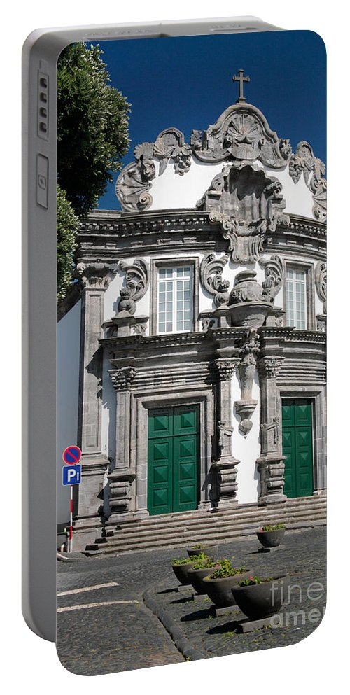 Church Portable Battery Charger featuring the photograph Church by Gaspar Avila