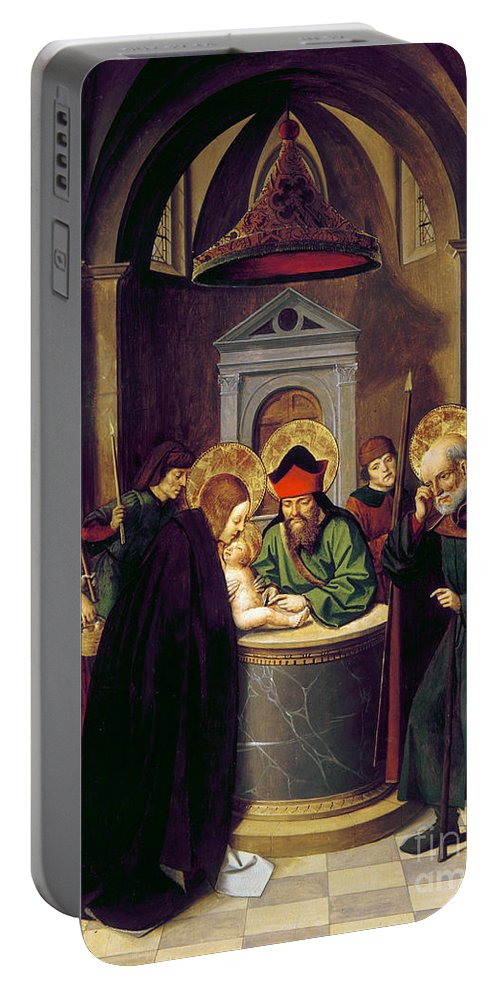 1493 Portable Battery Charger featuring the photograph Circumcision Of Christ by Granger