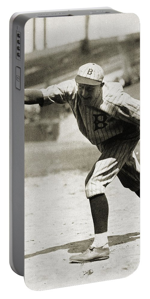 1920s Portable Battery Charger featuring the photograph Dazzy Vance (1891-1961) by Granger