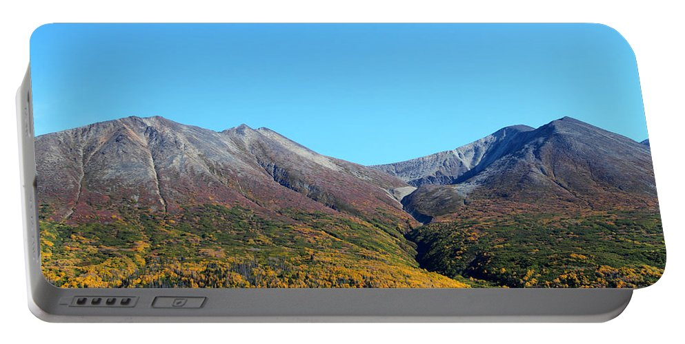 Doug Lloyd Portable Battery Charger featuring the photograph Fall Mountains by Doug Lloyd