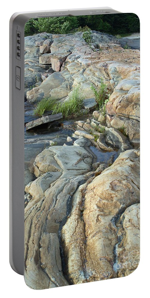 Georgian Bay Portable Battery Charger featuring the photograph Georgian Bay, Canada by Ted Kinsman