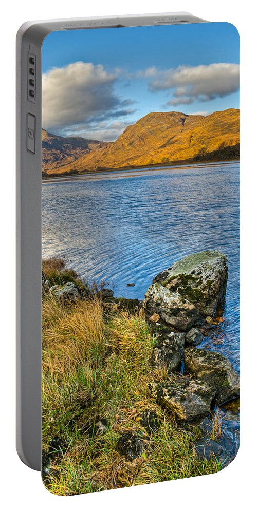 Glen Gour Portable Battery Charger featuring the photograph Glen Gour View by Gary Eason